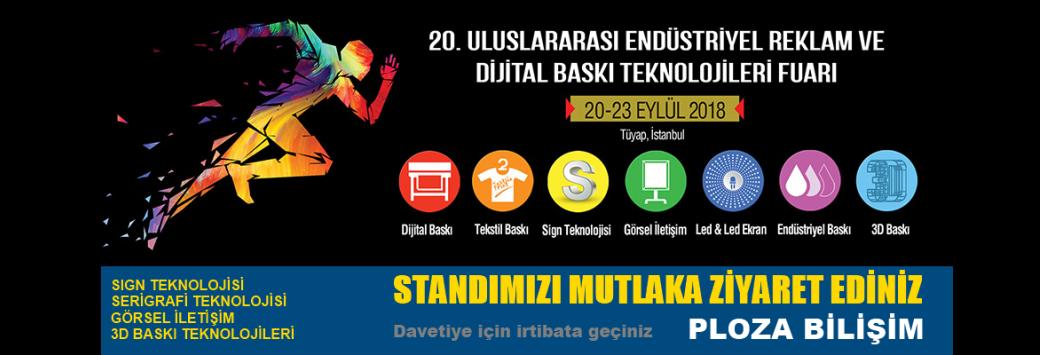 Sign İstanbul Fuarındayız